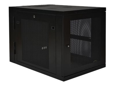 Tripp Lite SmartRack 12U Extended Depth Wall Mount Rack Enclosure Cabinet