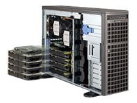 Supermicro GPU SuperWorkstation 7047GR 4U RM Tower Xeon E5-2600 Max. 512GB DDR3 9x 3.5 + 3x 5.25 Bays 7x PCIe