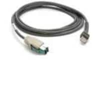 Zebra Symbol Scanner Cable, USB to Power Plus Connection, Straight, 7ft, CBA-U03-S07ZAR, 8923011, Cables