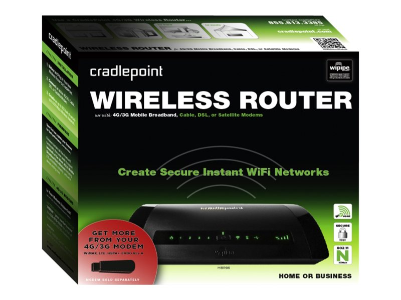 CradlePoint Wireless Router MBR95, MBR95, 12896545, Wireless Routers