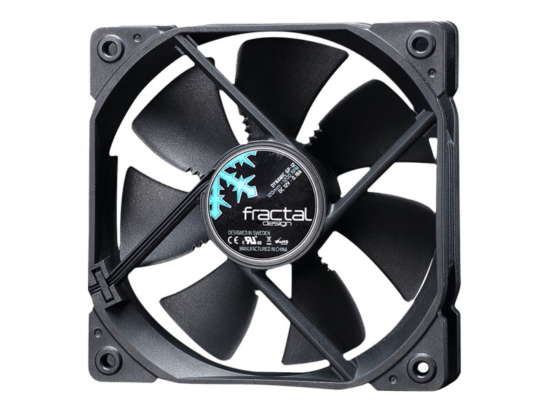Fractal Design Dynamic GP-12 120mm Fan, Black, FD-FAN-DYN-GP12-BK