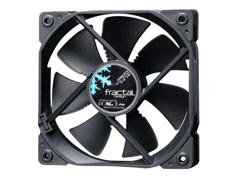 Fractal Design Dynamic GP-12 120mm Fan, Black