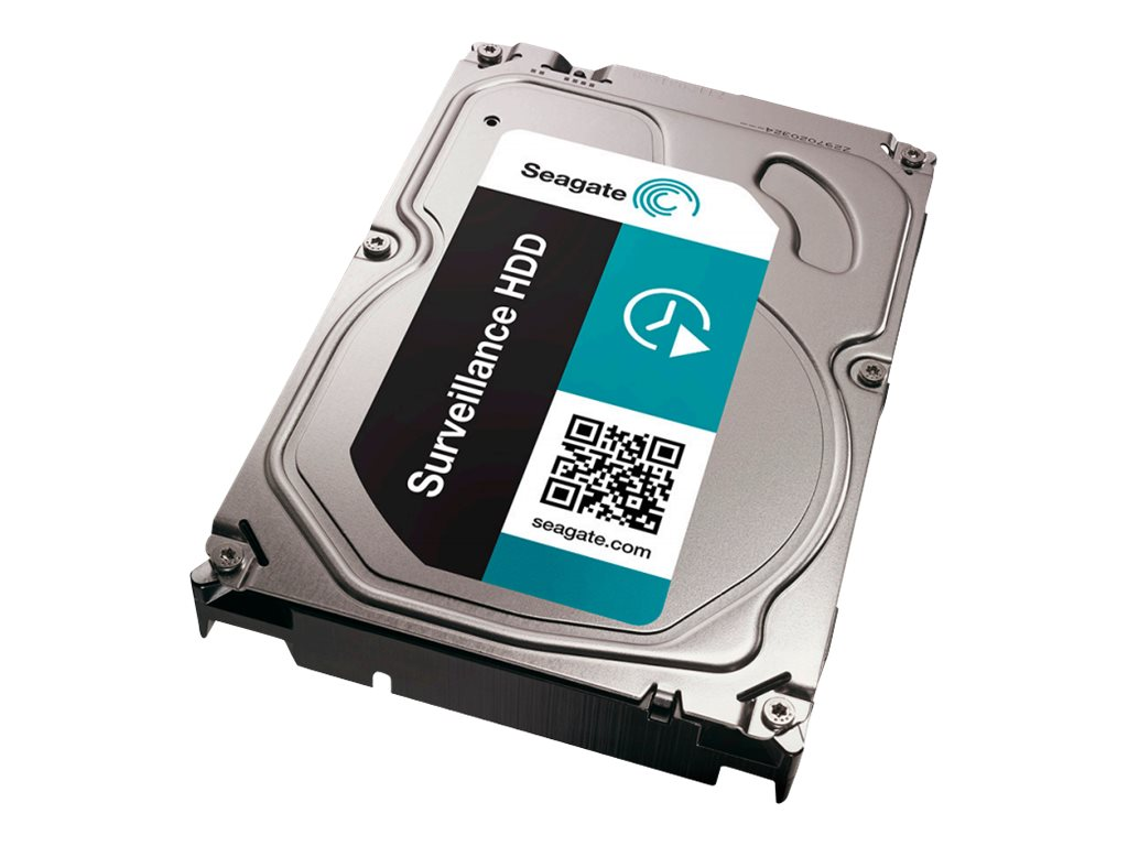 Seagate 2TB Surveillance SATA 6Gb s 3.5 Internal Hard Drive +Rescue, ST2000VX005