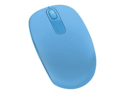 Microsoft Wireless Mobile Mouse 1850, Cyan Blue, U7Z-00055