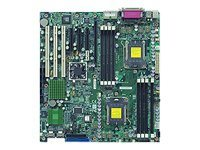 Supermicro Motherboard, MCP55 Pro, Opteron 2000, EATX, Max 32GB DDR2, 2PCIEX8, PCIEX4, 3PCIX, GBE, Vid, SATA, H8DM3-2, 9065847, Motherboards