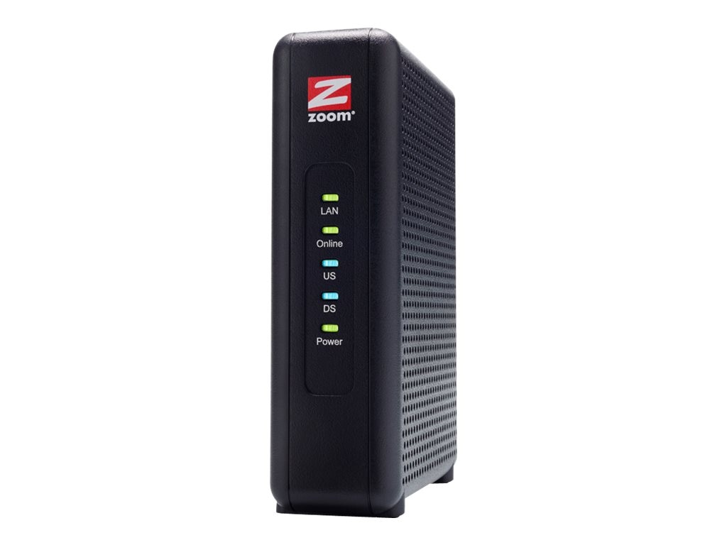 Zoom DOCSIS 3.0 8x4 Cable Modem, 5345-00-00, 28342328, DSL/Cable Modems