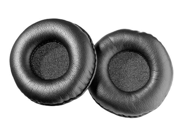 Sennheiser HZP19 Replacement Leather Ear Cushions, 504151, 16182603, Headsets (w/ microphone)