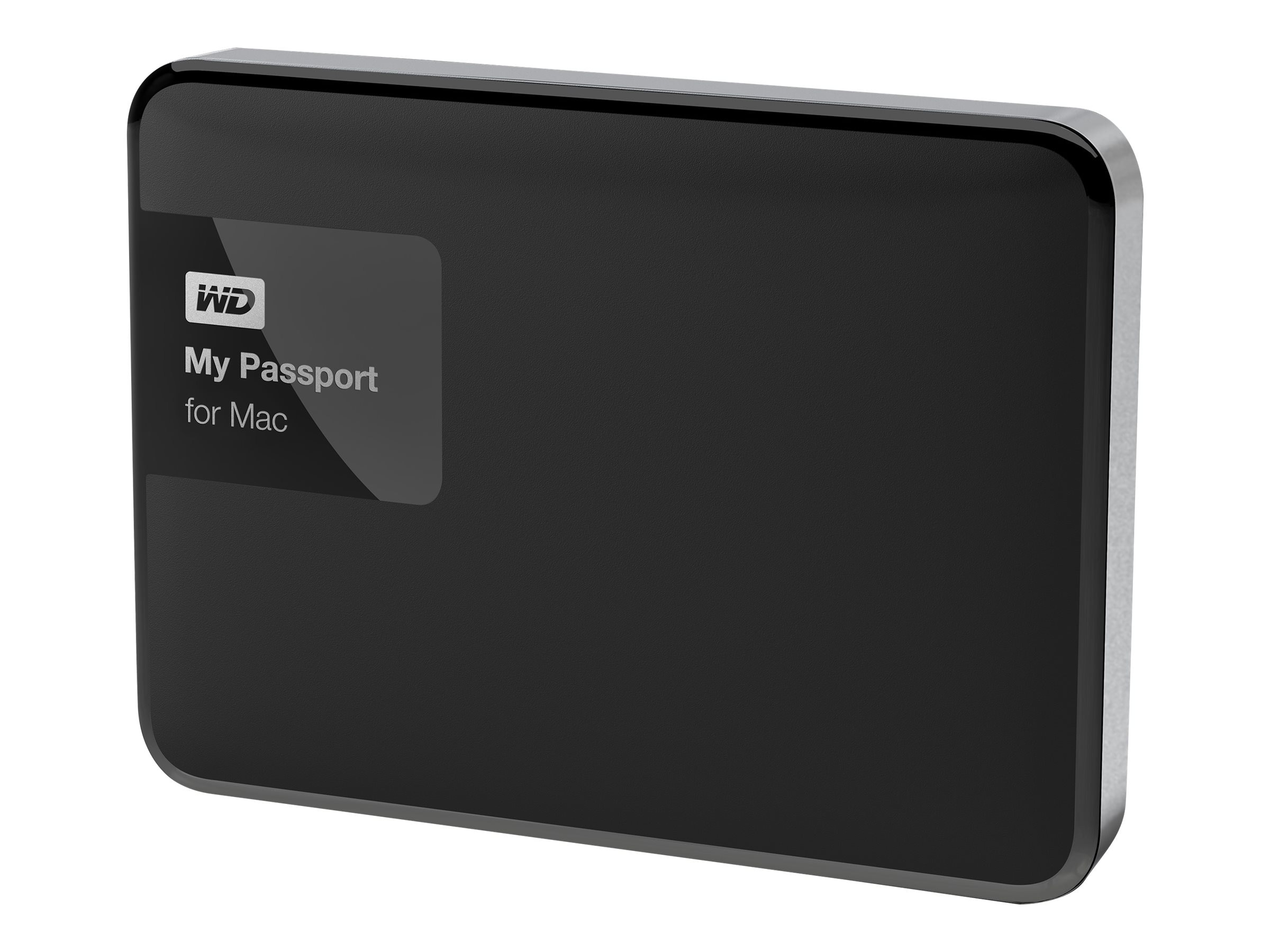 WD 1TB My Passport for Mac USB 3.0 Portable Hard Drive, WDBJBS0010BSL-NESN, 22159004, Hard Drives - External