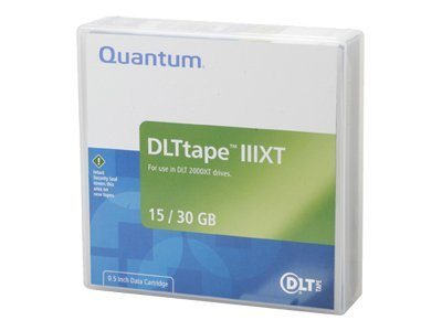 Quantum 15 30GB 1 2 DLT III XT Tape Cartridge, THXKE-01, 37750, Tape Drive Cartridges & Accessories