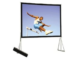 Da-Lite Heavy Duty Fast-Fold Deluxe Screen System, Dual Vision, 4:3, 210, 92148, 32415331, Projector Screens