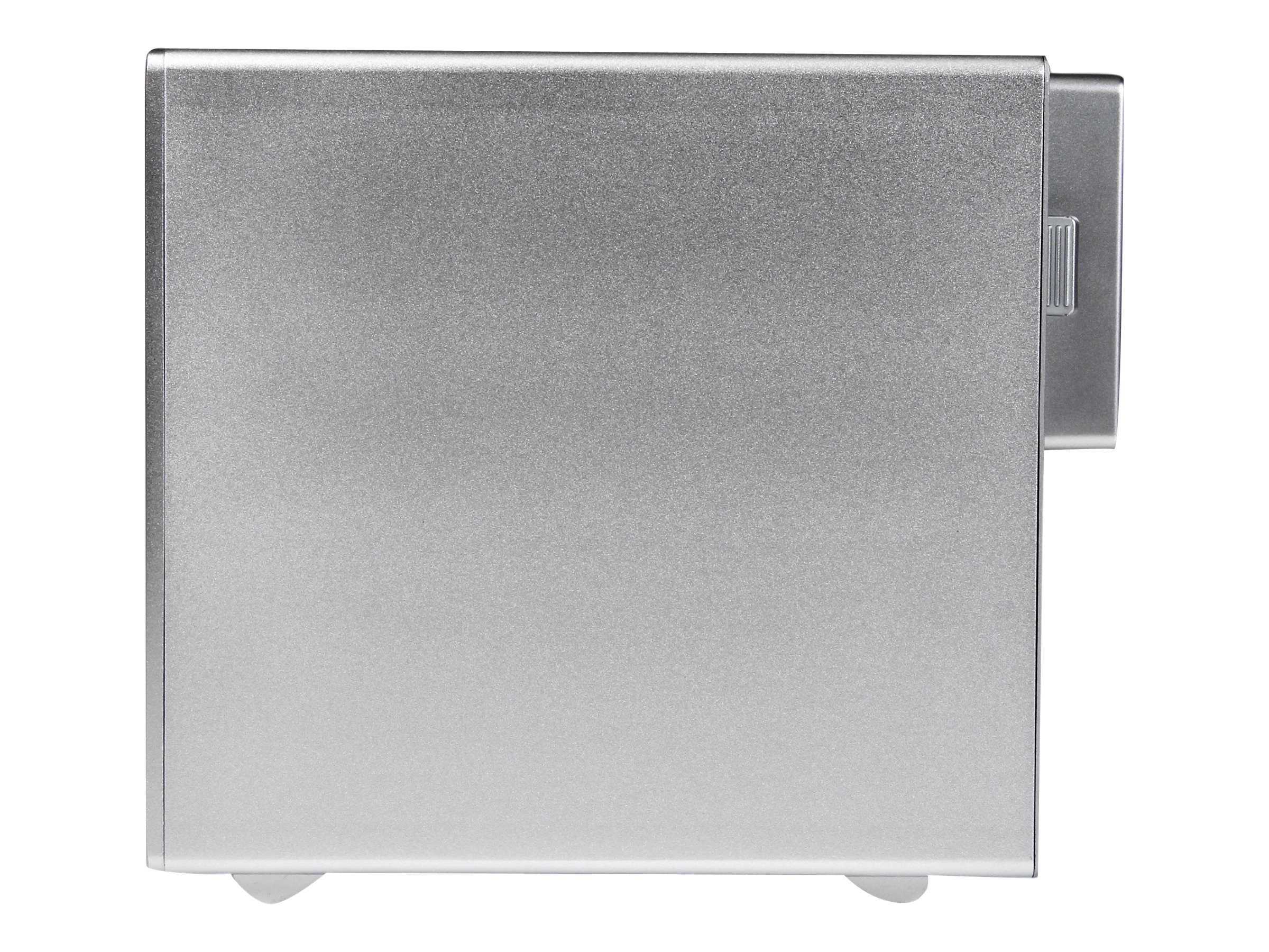 StarTech.com 4-Bay Thunderbolt 2 Hard Drive Enclosure with RAID for 3.5 HDDs, S354SMTB2R