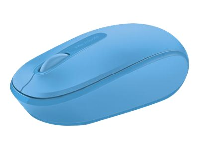 Microsoft Wireless Mobile Mouse 1850, Cyan Blue, U7Z-00055, 18358844, Mice & Cursor Control Devices