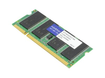 ACP-EP 512MB PC2100 266MHz DDR SDRAM Memory for Select Satellite, Tecra, Dynabook, Libretto, Portege Models, KTT3614/512-AA