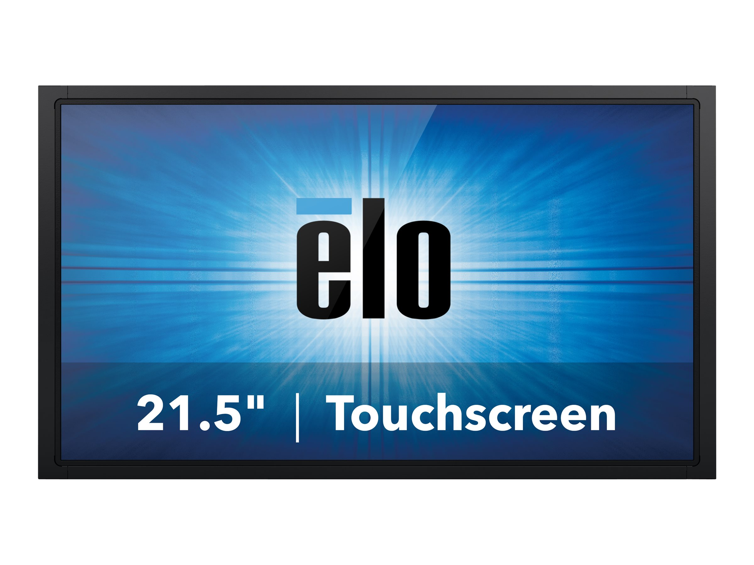 ELO Touch Solutions 21.5 Full HD IntelliTouch LED-LCD Monitor, Black