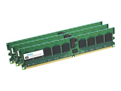 Edge 12GB PC3-10600 240-pin DDR3 SDRAM RDIMM Kit, PE22220803, 11130249, Memory
