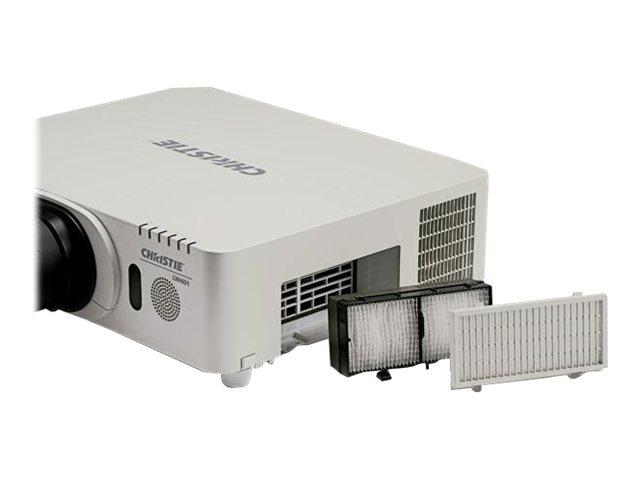 Open Box Christie LW401 3LCD Projector, 4000 Lumens, White, 121-012104-01, 30841273, Projectors