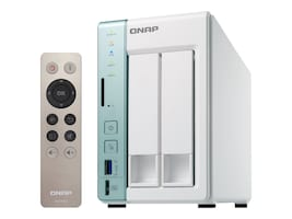 Qnap 2-Bay TS-251A Personal Cloud NAS DAS w  USB Direct Access, TS-251A-2G-US, 32596005, Network Attached Storage