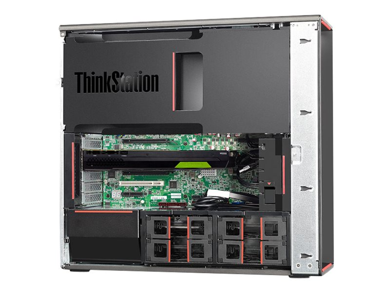 Lenovo TopSeller ThinkStation P710 2.2GHz Xeon Windows 10 Pro 64-bit Edition, Windows 7 Professional 64-bit, 30B70024US