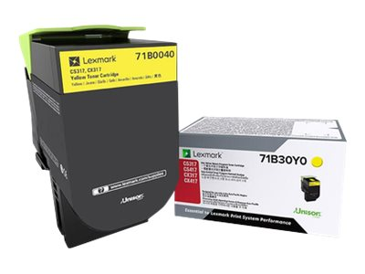 Lexmark Yellow Toner Cartridge for CS317dn & CX317dn