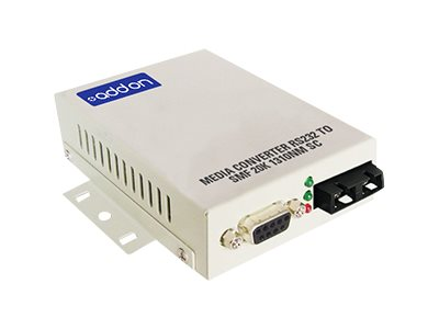 ACP-EP Media Converter RS232 To  SMF 20K 1310NM SC, ADD-RS232-2SC, 16222978, Network Transceivers