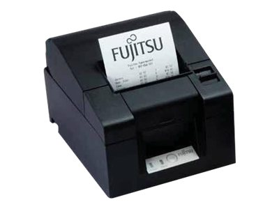 Fujitsu FP-1000 Serial USB Thermal Printer - Black w  AC Adapter & Cutter