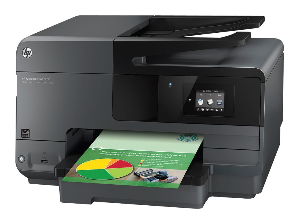HP Officejet Pro 8610 e-All-in-One Printer $199.95 - $70 instant rebate = $129.95 expires 12 14 15, A7F64A#B1H