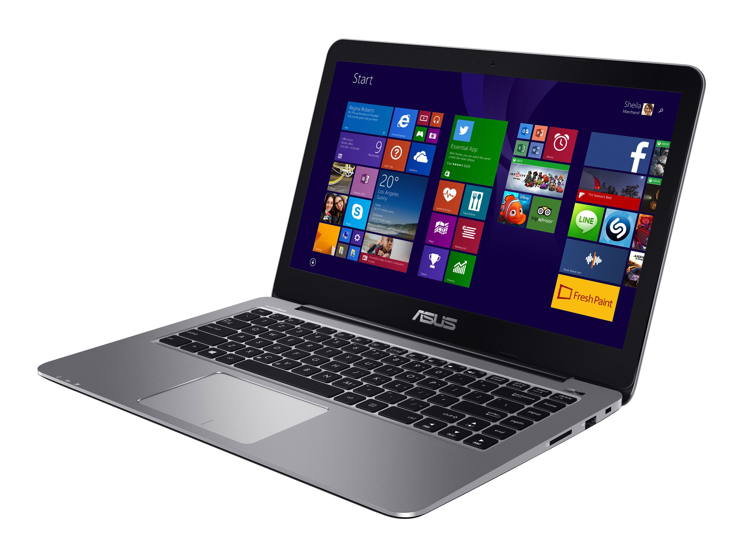 Asus Notebook PC Celeron N3700 1.6GHz 4GB 128GB 14 FHD