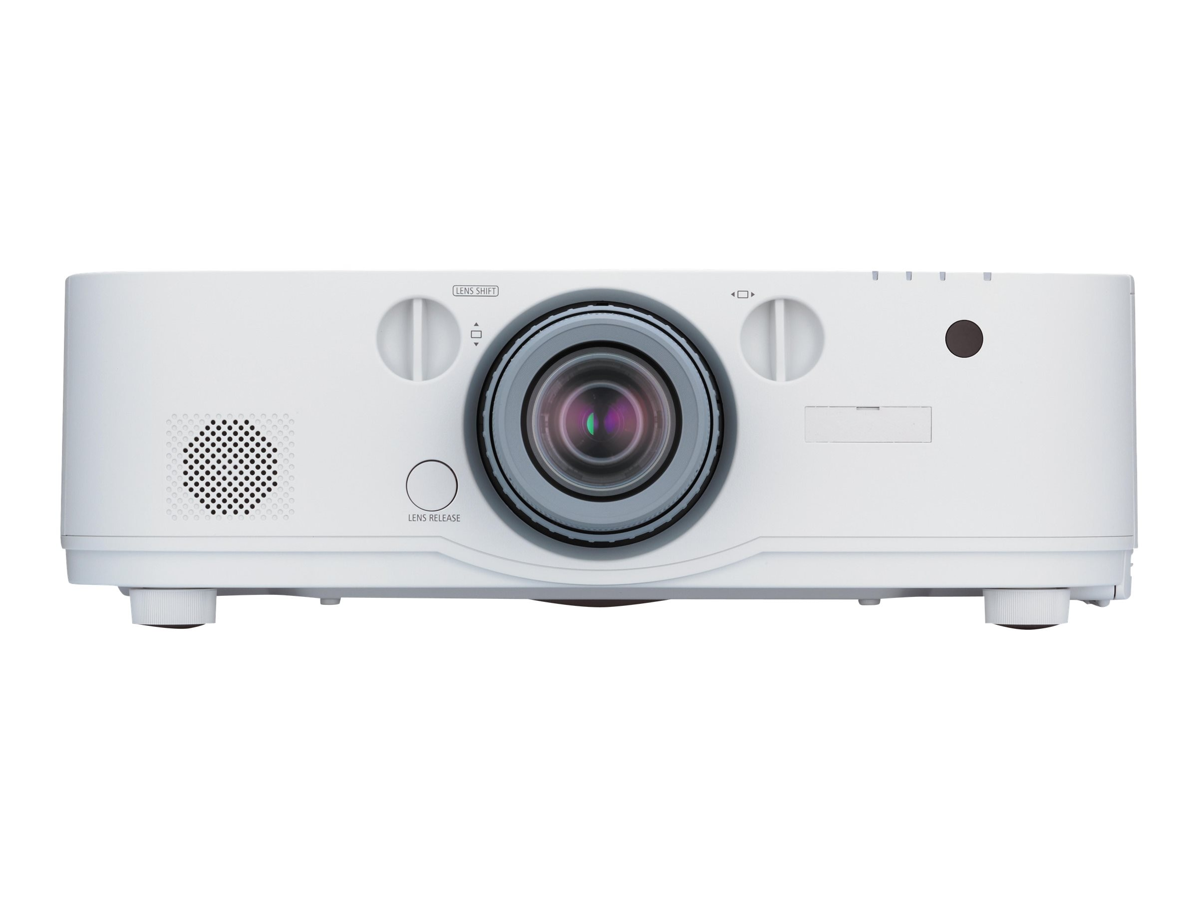 NEC PA672W WXGA LCD Projector, 6700 Lumens, White with 1.5-3.0:1 Zoom Lens, NP-PA672W-13ZL