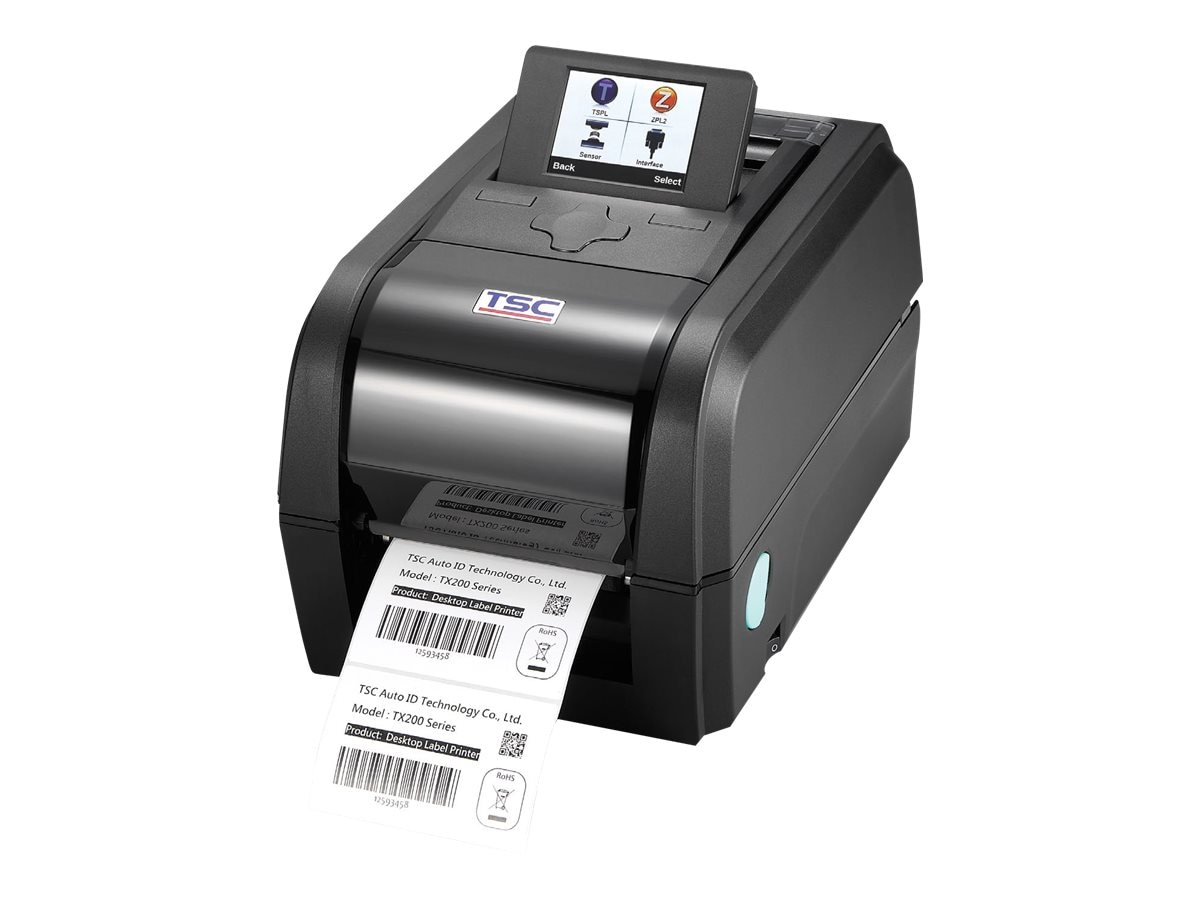 TSC TX200 203dpi 8ips Thermal Transfer DES Printer