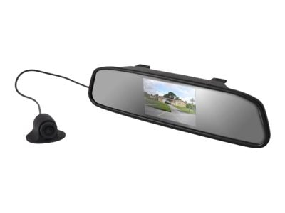 Pyle Rear View Mirror Back-Up Camera Parking Assist System, PLCM4340
