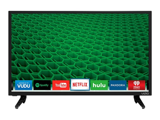 Vizio 24 D24-D1 LED-LCD Smart TV, Black, D24-D1, 31159276, Televisions - LED-LCD Consumer