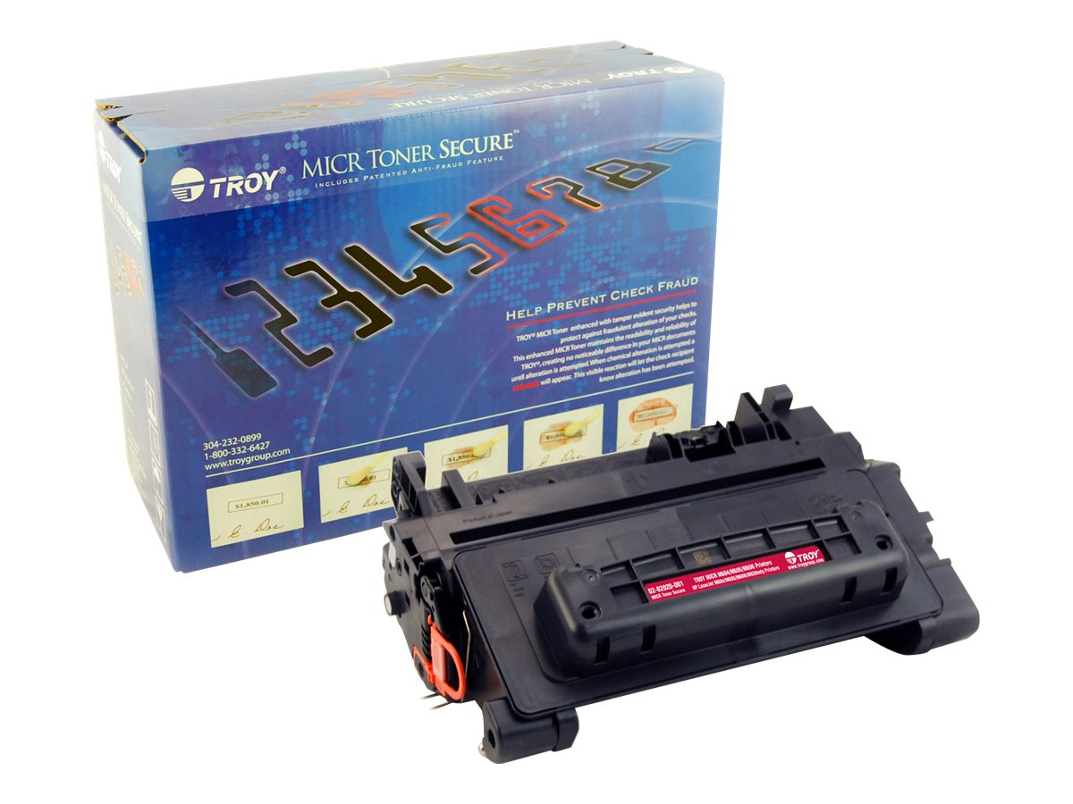 Troy Black MICR Secure Toner Cartridge for M604, M605 & M606, 02-82020-001, 22072030, Toner and Imaging Components