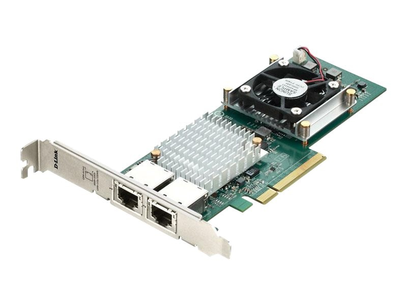 D-Link Dual Port 10GBASE-T RJ45 PCI Express Adapter, DXE-820T
