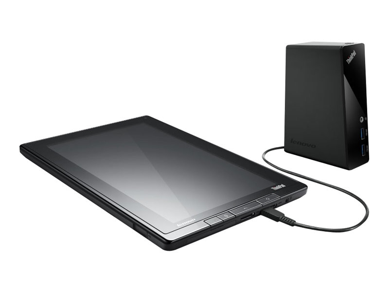 Open Box Lenovo ThinkPad Basic USB 3.0 Dock, 4X10A06687