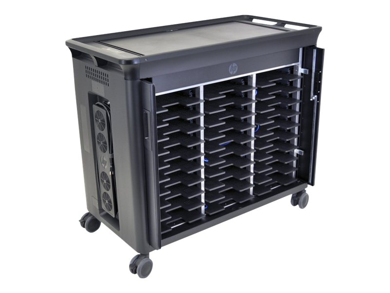 HP Charging Cart for 30 Notebooks, QL490AA#ABA, 12768615, Computer Carts