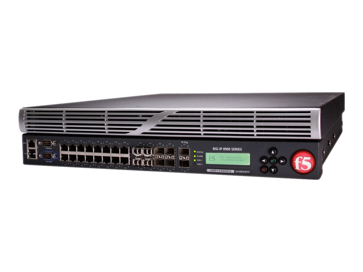F5 Networking BIG-IP Local Traffic Manager 8900 16GB ROHS, F5BIGLTM8900R, 10701871, Network Server Appliances