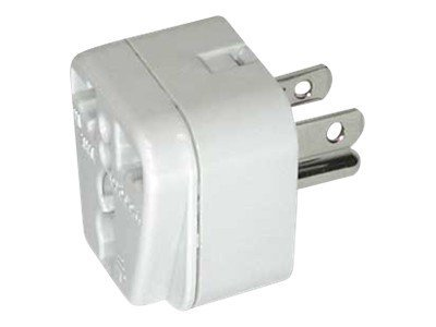 Conair Travel Smart Grounded Adapter Plug for North South America, Caribbean, Japan, NWG3C, 18463345, Adapters & Port Converters
