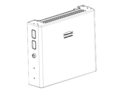 Rubbermaid A36-TB Tech Box for Medical Cart, 1780994