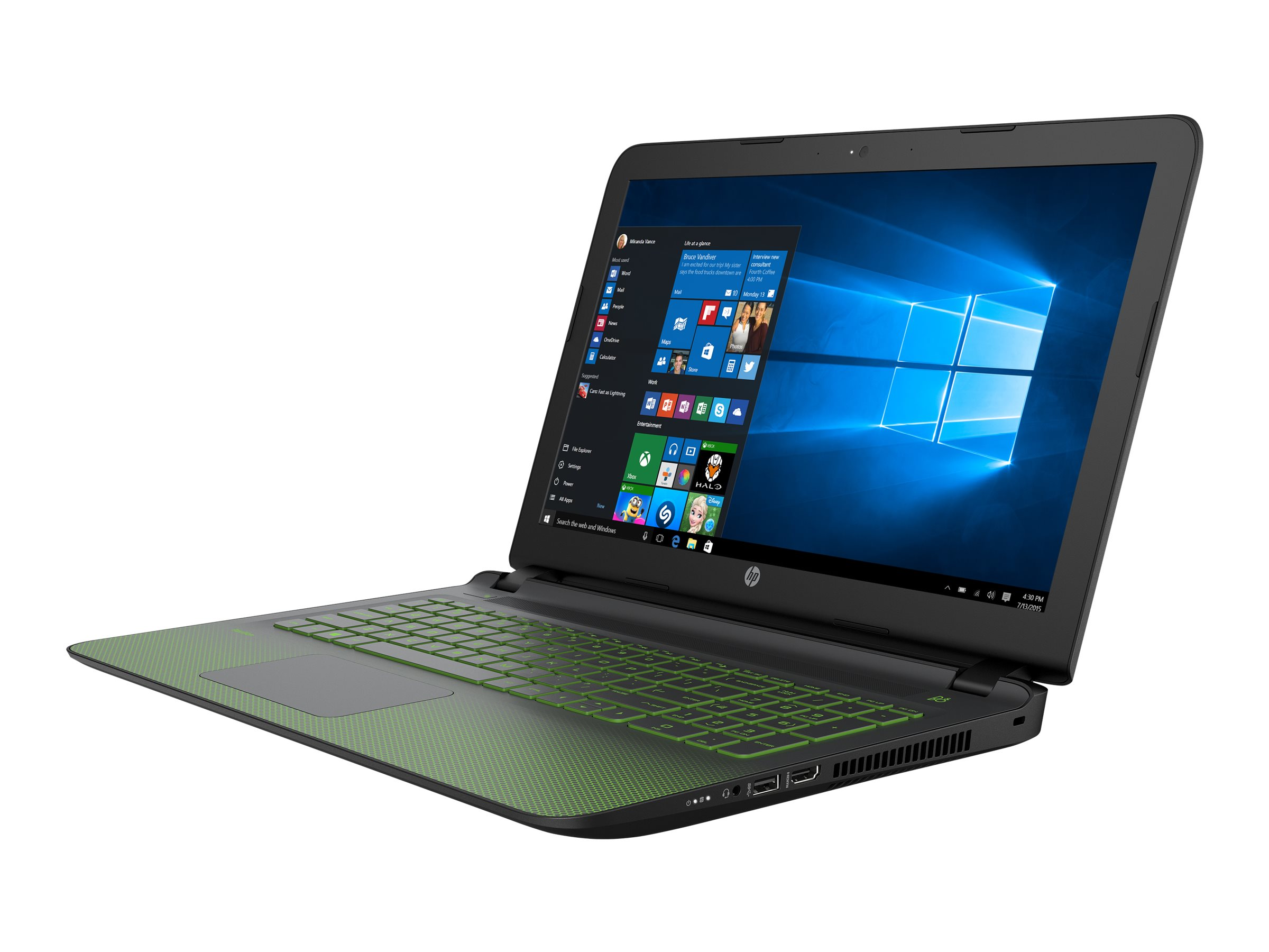 HP Notebook PC Core i7-4720 8GB 1TB 15.6 W10, N8J97UA#ABA, 30637889, Notebooks