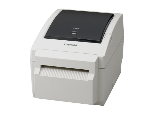 Toshiba B-EV4D GS 4 Wide 203dpi 5ips Direct Thermal Desktop Printer, B-EV4D-GS14-QM-R