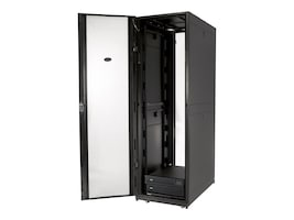 APC NetShelter SX 42U Enclosure, 600mm Wide x 1070mm Deep, Sides, Black, Instant Rebate - Save $75, AR3100, 6325906, Racks & Cabinets