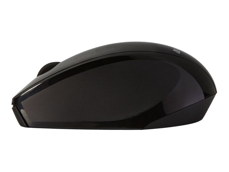 Verbatim Multi-Trac Blue LED Mouse, Wireless, Optical, Black, 97992