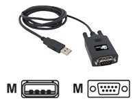 Siig USB to 9-pin Serial Adapter Cable, 1.5m, JU-000061-S1, 8175930, Adapters & Port Converters