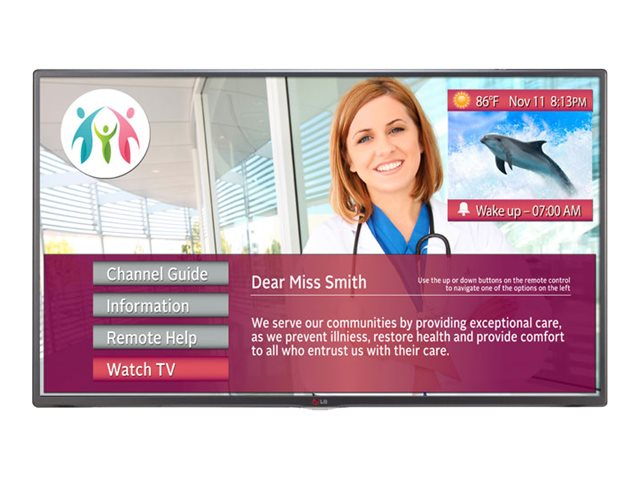 LG 31.5 LY560M LED-LCD Hospital Grade TV, Black, 32LY560M, 17283844, Televisions - LED-LCD Commercial