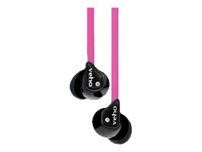VEHO Noise Isolating Super Soft Earbud, VEP003360Z1P, 31824521, Headphones