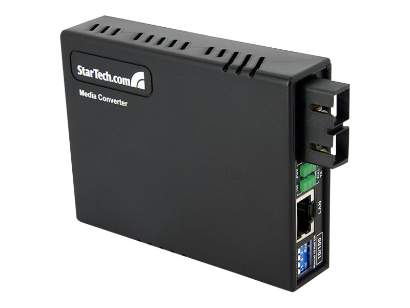 StarTech.com Fiber to Ethernet Media Converter RJ45 to SC 2KM, MCM110SC2, 10448554, Network Transceivers