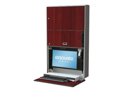 Enovate e850 Wall Station with eSensor & eLift, Port Maple, E850LC-E-000-PM-0, 15735413, Computer Carts - Medical