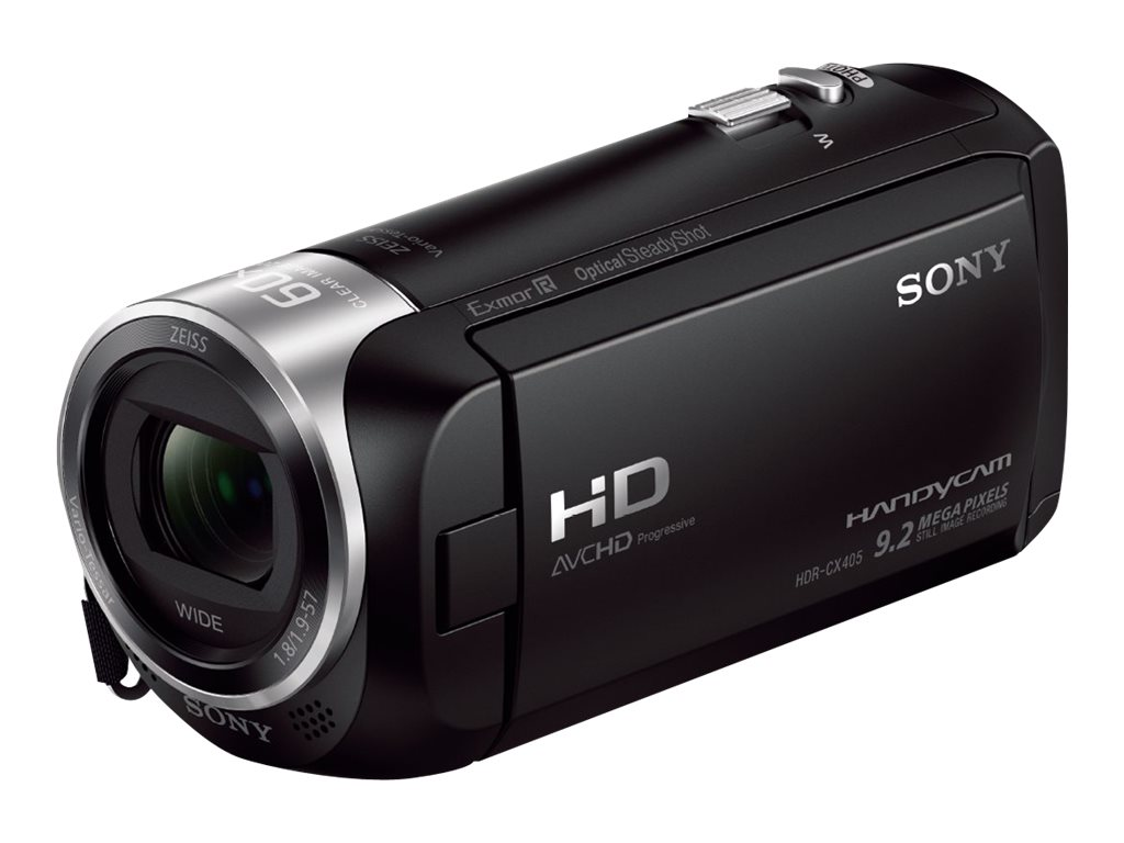 Sony 2.51MP CX405 HD Handycam, Black