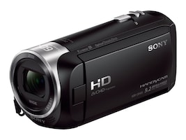 Sony 2.51MP CX405 HD Handycam, Black, HDRCX405/B, 32044358, Camcorders