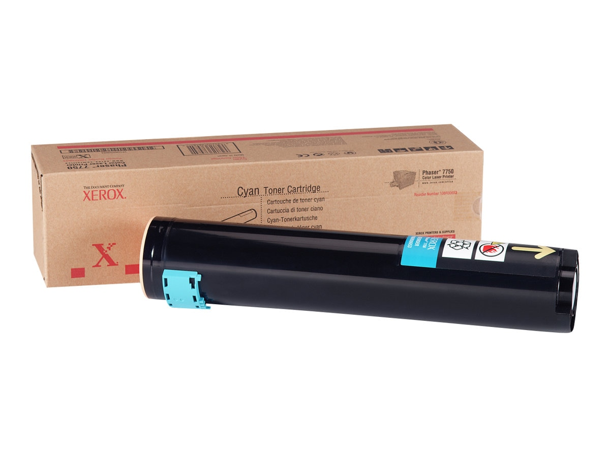 Xerox Cyan Toner Cartridge for the Phaser 7750, 106R00653